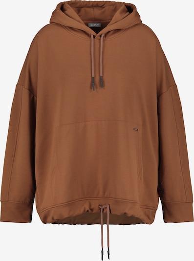 SAMOON Sweatshirt in braun, Produktansicht