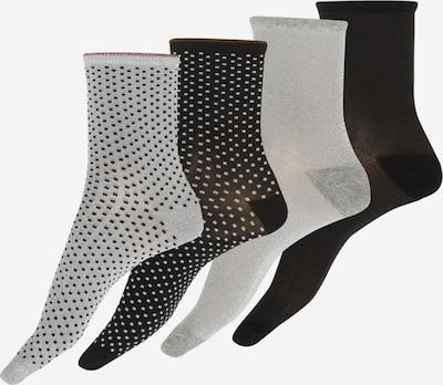 BeckSöndergaard Socken in grau / schwarz / weiß, Produktansicht