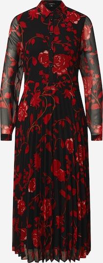 COMMA Vestido camisero en rojo / negro, Vista del producto
