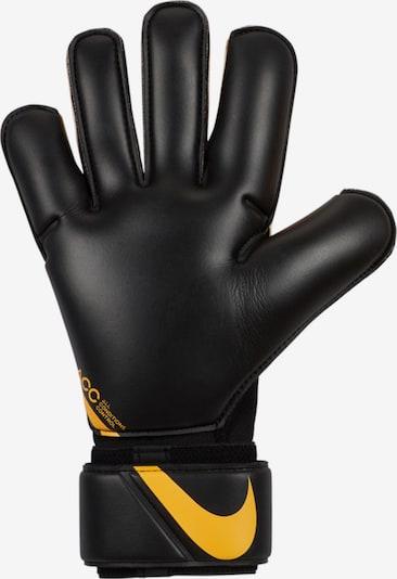 NIKE Torwarthandschuh 'Vapor Grip 3' in goldgelb / schwarz, Produktansicht