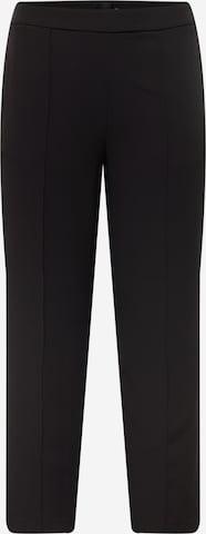 Pantaloni 'BOSSY' de la PIECES Curve pe negru
