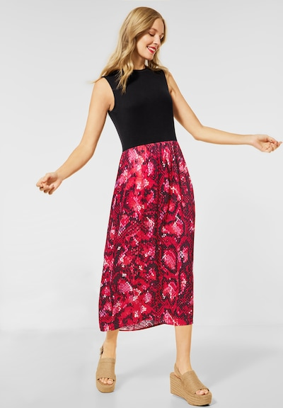 STREET ONE Dress in Red / Black, View model