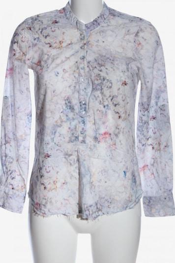 Emily Langarm-Bluse in XS in blau / weiß, Produktansicht