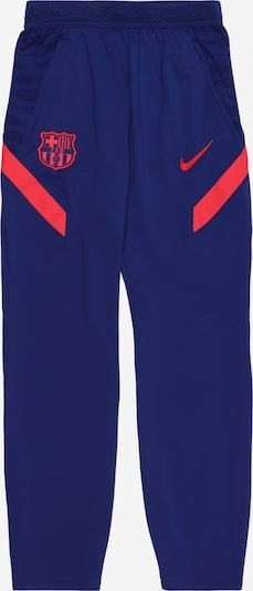 NIKE Sports trousers 'FC Barcelona' in royal blue / cranberry, Item view