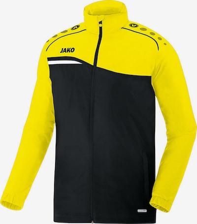 JAKO Jacke in gelb / schwarz: Frontalansicht
