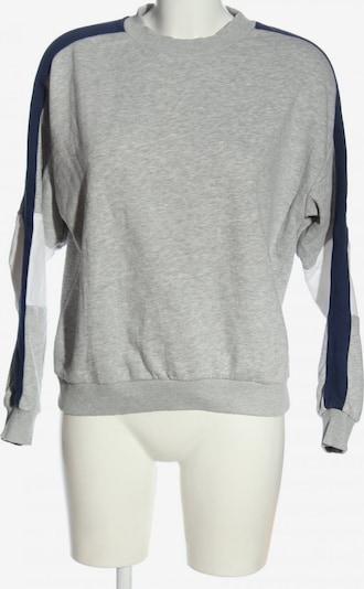 TWINTIP Sweatshirt in S in blau / hellgrau / weiß, Produktansicht