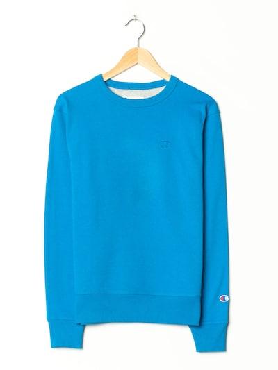 Champion Authentic Athletic Apparel Sweatshirt in S-M in neonblau, Produktansicht