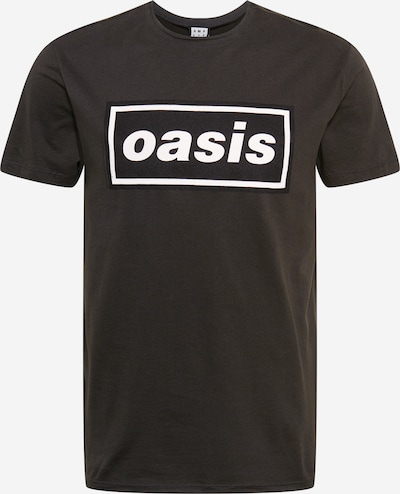 AMPLIFIED Shirt 'OASIS' in dark grey / black / white, Item view