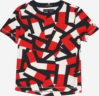 TOMMY HILFIGER T-Shirt en rouge / noir / blanc, Vue avec produit