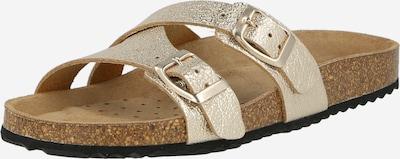 GEOX Pantofle 'Brionia' - zlatá, Produkt