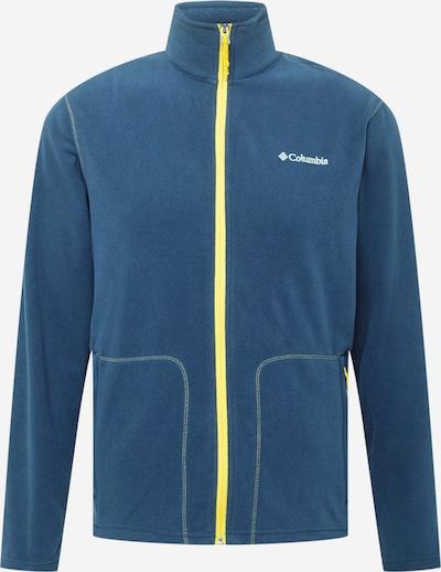 COLUMBIA Flīsa jaka tumši zils / dzeltens, Preces skats