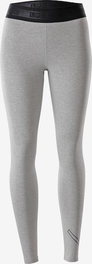 LPO Leggings in graumeliert / schwarz, Produktansicht