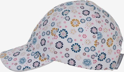 STERNTALER Cap in navy / honig / pink / dunkelrot / weiß, Produktansicht