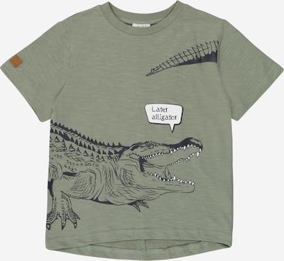 Hust & Claire T-Shirt 'Angus' en bleu nuit / vert clair / blanc, Vue avec produit