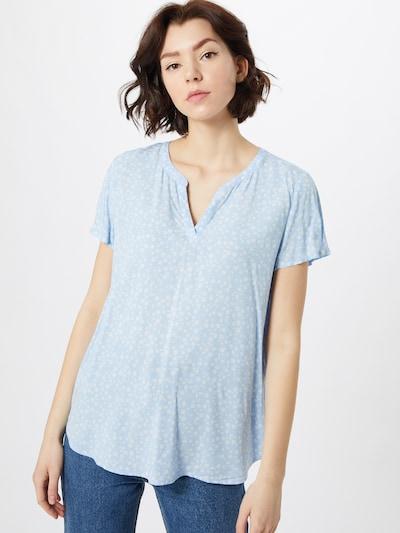 ESPRIT Bluse in hellblau / weiß, Modelansicht