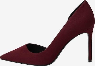 MANGO Čevlji s peto 'Audrey' | vinsko rdeča barva, Prikaz izdelka