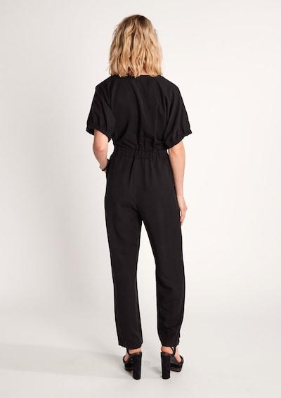 COMMA Jumpsuit in Black: Rear view