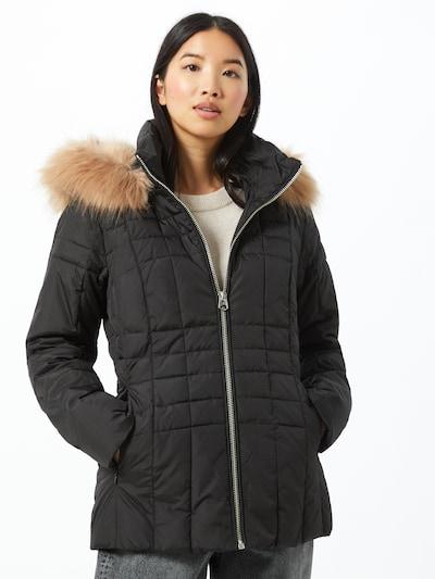 Calvin Klein Veste d'hiver en noir, Vue avec modèle