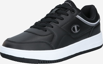 Champion Authentic Athletic Apparel Baskets basses en noir / blanc, Vue avec produit