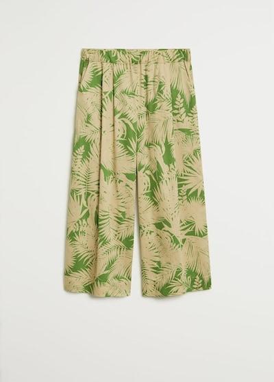 MANGO Pantalon 'Kai' en roseau / vert clair, Vue avec produit