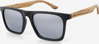 Wave Hawaii Sonnenbrille ' Dropp ' in braun / schwarz, Produktansicht