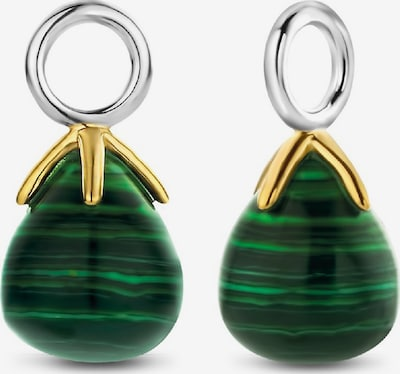 Ti Sento Milano Ohrringe in gold / grün, Produktansicht