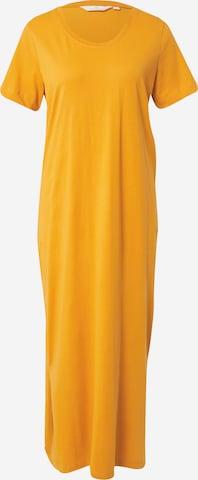 basic apparel Kleid 'Rebekka' in Gelb