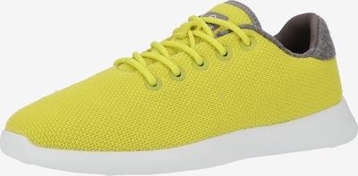 GIESSWEIN Sneaker in gelb / graumeliert / weiß, Produktansicht