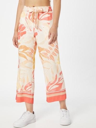 COMMA Hose in orange / pfirsich / pitaya / weiß, Modelansicht