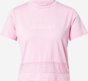 ONLY PLAY Toiminnallinen paita 'AKINA' värissä lila