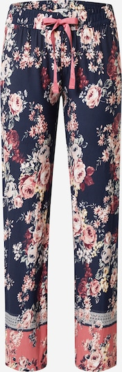 PJ Salvage Pidžama hlače u mornarsko plava / miks boja, Pregled proizvoda