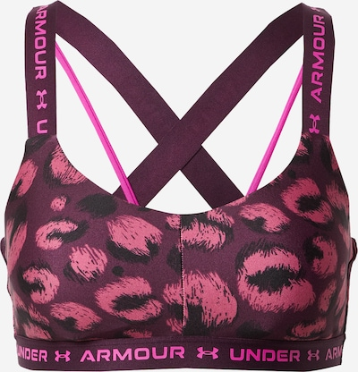 UNDER ARMOUR Sports bra in Berry / Fuchsia / Pink / Black, Item view