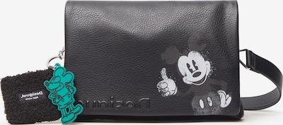 Desigual Pleca soma, krāsa - gaiši pelēks / melns, Preces skats