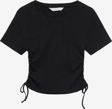 MANGO TEEN Shirt 'CLARA' in Schwarz