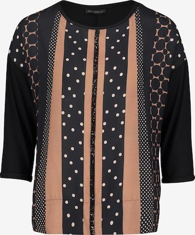 Betty Barclay T-Shirt in hellbeige / schwarz, Produktansicht