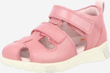 Pantofi deschiși de la ECCO pe roz