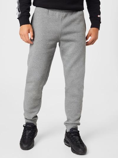 Pantaloni Champion Authentic Athletic Apparel pe gri / roșu / alb, Vizualizare model