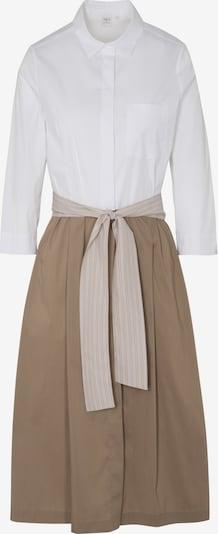 ETERNA Blusenkleid in beige / weiß, Produktansicht