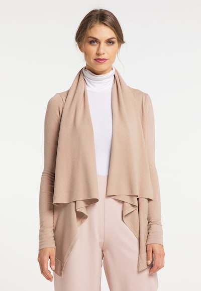 usha BLACK LABEL Cardigan in beige, Modelansicht