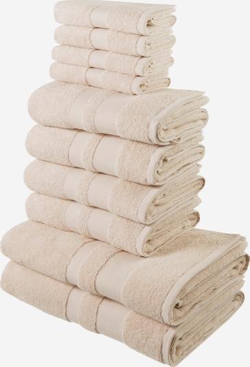 MY HOME Handtuch in creme, Produktansicht