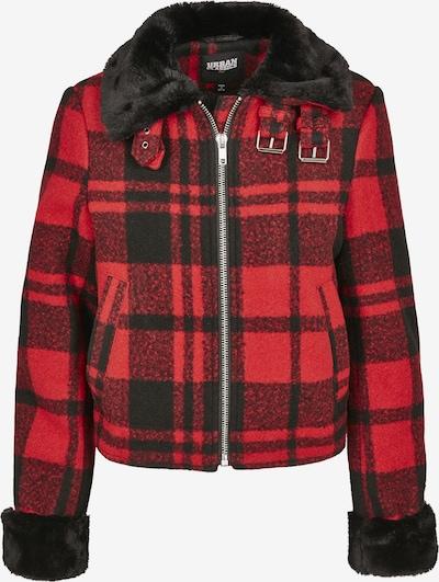 Urban Classics Zimska jakna u vatreno crvena / crna, Pregled proizvoda