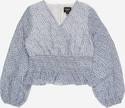 Bardot Junior Bluse 'DAISY' in rauchblau / gelb / weiß, Produktansicht