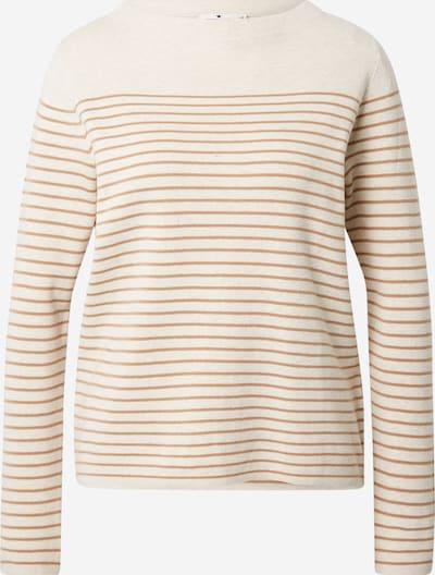 TOM TAILOR Pullover in beige / braun, Produktansicht