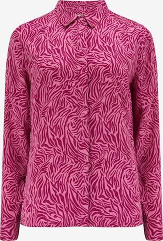 Sugarhill Brighton Bluse 'Joy Wild Animal' in Pink