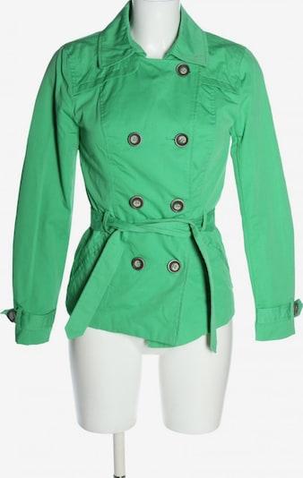 ONLY Trenchcoat in XS in grün, Produktansicht