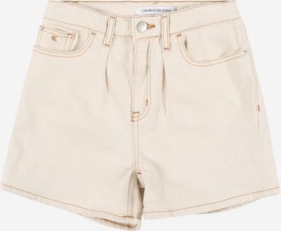 Jeans Calvin Klein Jeans pe ecru, Vizualizare produs