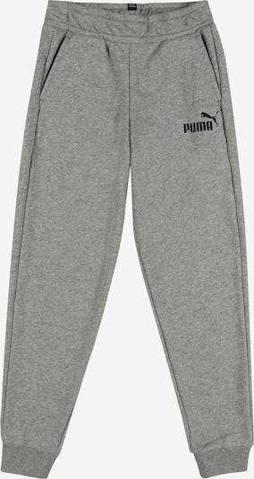 PUMA Sporthose in graumeliert / schwarz, Produktansicht