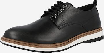 CLARKS Fűzős cipő 'Atticus' - fekete