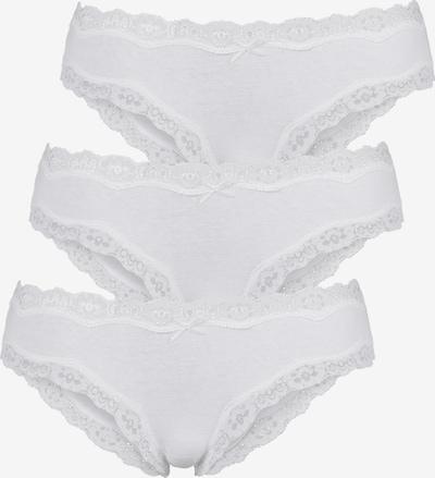 LASCANA Brasilslip in weiß, Produktansicht