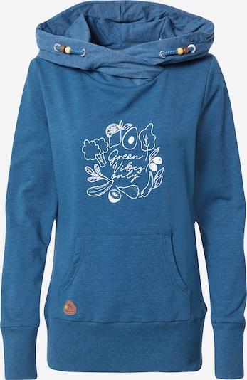 Ragwear Bluzka sportowa 'ANGELINA' w kolorze niebieski / białym, Podgląd produktu